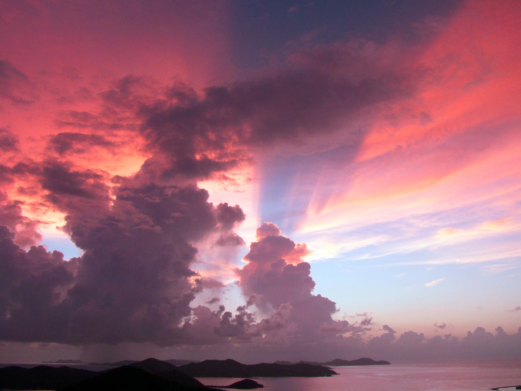 Sunrise, British Virgin Islands