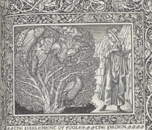William Morris, parlement of foules